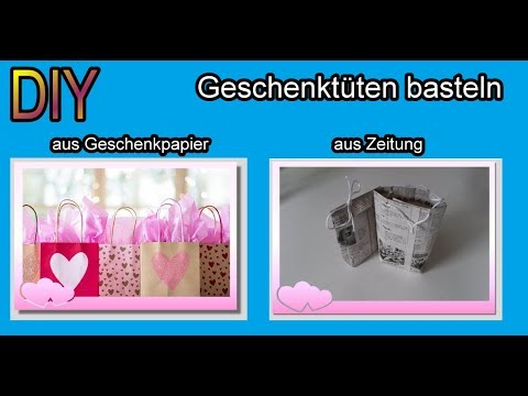 papier geschenkt te basteln t ten aus zeitung geschenkpapier selber machen falten diy. Black Bedroom Furniture Sets. Home Design Ideas