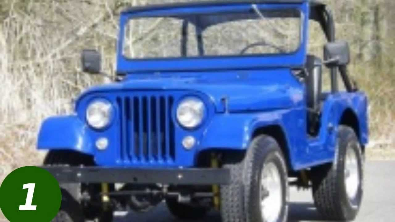 Top 10 Jeep CJ5s on FossilCars.com - YouTube