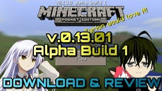 Gambar cover Minecraft PE   v0.13.0 Alpha Build 1   DOWNLOAD & REVIEW   UPDATED!