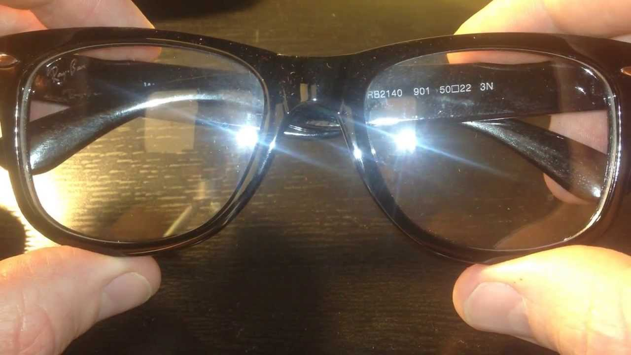 How to distinguish original Ray-Ban glasses from a fake 16