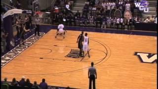 WCU vs App State Mens Basketball 12 8 12