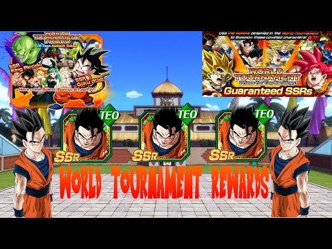 ALL PRIZES FROM THE 11TH WORLD TOURNAMENT / TICKET SUMMONS | Dragon Ball Z Dokkan Battle