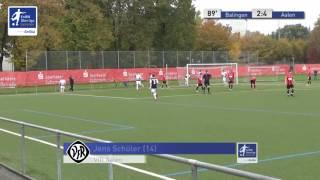 A-Junioren - TSG Balingen vs. VfR Aalen 2:4 - Jens Schüler