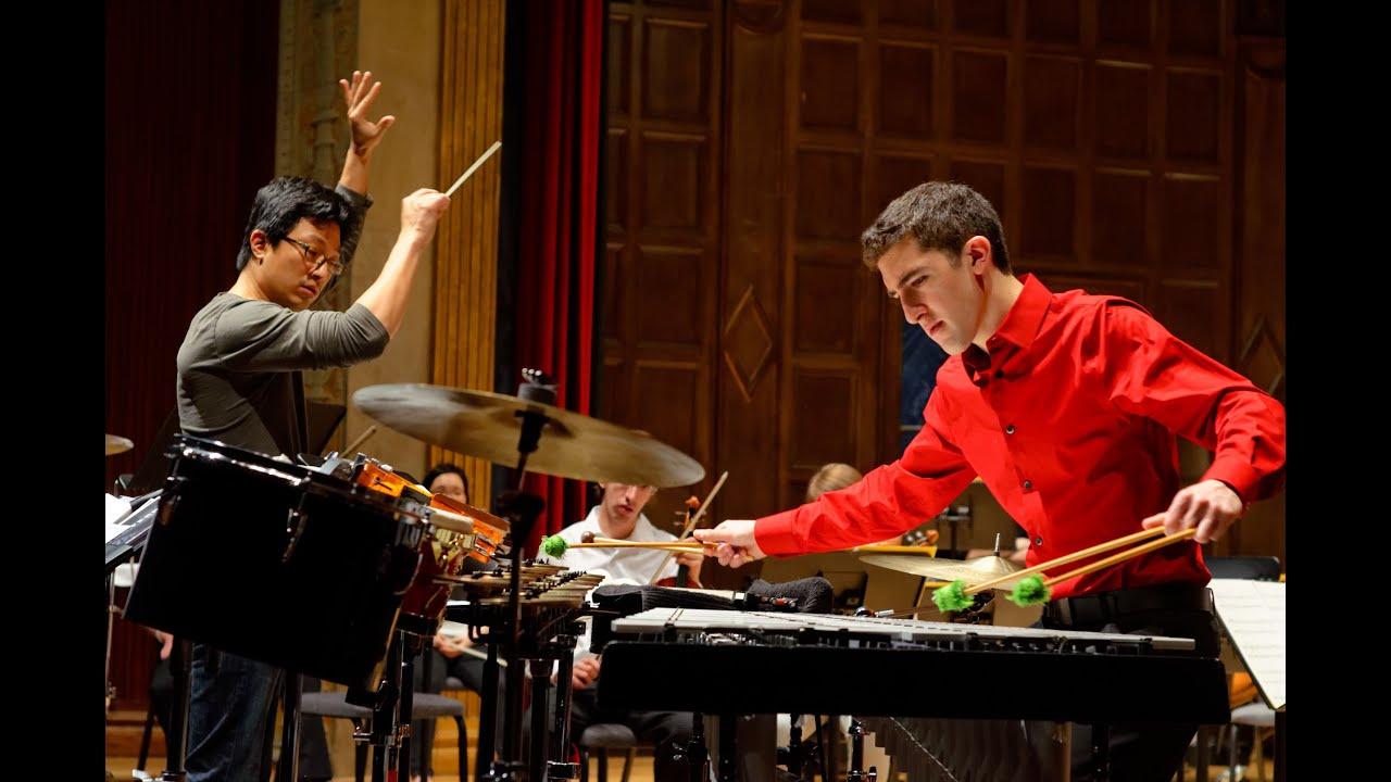 Peter Ferry - Duddell Percussion Concerto 'Ruby' US Premiere