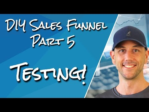 DIY Sales Funnel #5 - Testing - How To Put Your Shopping Cart And Stripe In Test Mode & Purchase