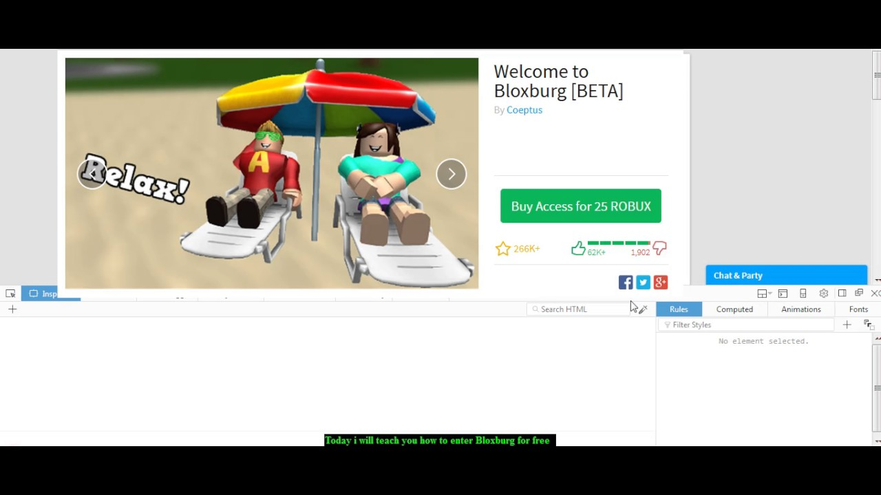How To Play Bloxburg Free 100 Working 2020 Youtube