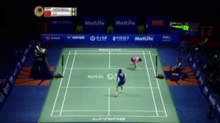 Thaihot China Open 2015 | Badminton F M3-WS | Saina Nehwal vs Li Xuerui