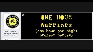 LRTV One Hour a Night Heroes - can you make it more efficient?