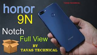 Honor 9N Unboxing and First Look In Hindi Cheapest Notch Phone