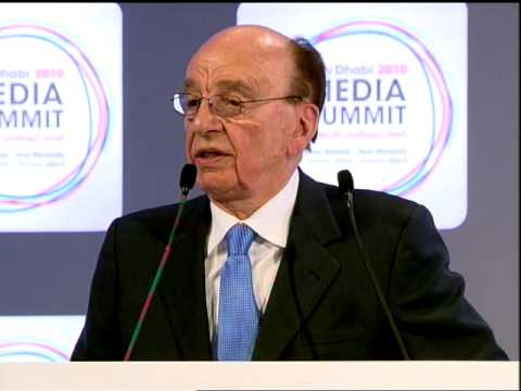 "Rupert Murdoch - ADMS Keynote: ""The Greatest Resource of All"""