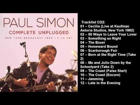 Paul Simon - Complete Unplugged CD2 (2017)