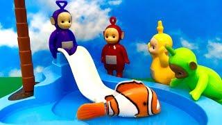 Teletubisie na basenie ☺ Bajka dla dzieci po Polsku ☺ Teletubbies