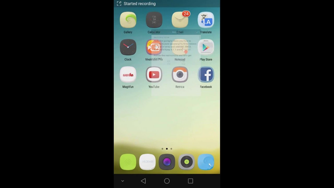 👑 How to update huawei ascend p7 only using your phone - Emui 3 1   Lollipop 5 1 1 ENGLISH