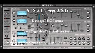 sts 21 - Free Vsti   Hybrid & Ambient Synth