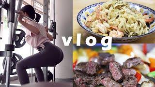 헬린이+다이어트식단,케익만들기,얼굴경락 vlog- [쩡유]