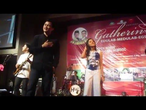 Mata Ke Hati  HiVi ft Ify Alyssa Medan, 27 Maret 2016 @GrandAstCityHall
