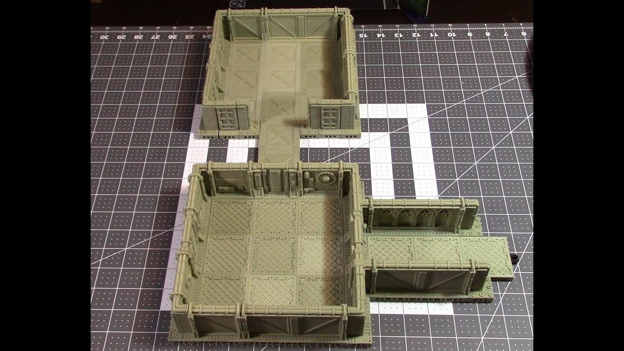 Modular game terrain