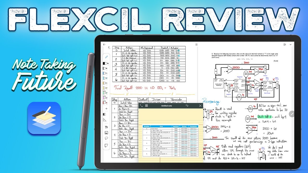 Flexcil review: Tab S6 | The Future of Android Note Taking?