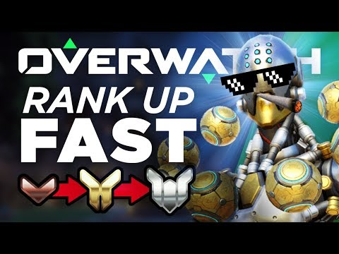Best 6 Heros To Rank Up FAST! Bronze to Platinum - Overwatch Guide