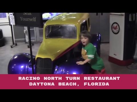 Racing North Turn Restaurant In Daytona Beach, Florida - Review