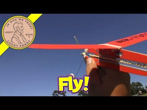 Lockheed Vega Rubber Band Powered Flyer, Wow Toyz