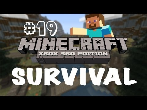 Minecraft Xbox 360: Survival Let's Play - Part 19 - Skyrim Mash-up Pack