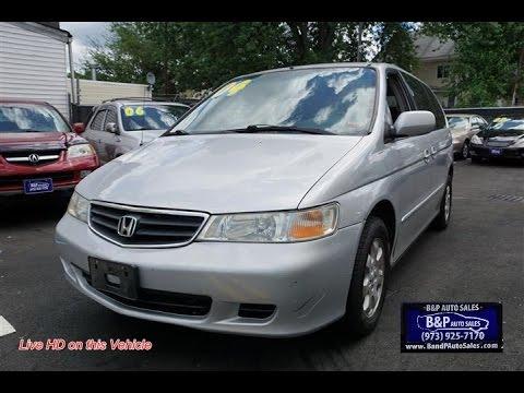 2004 Honda Odyssey EX Minivan Review