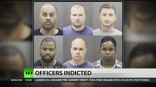 Grand jury indicts six Baltimore officers for death of Freddie Gray