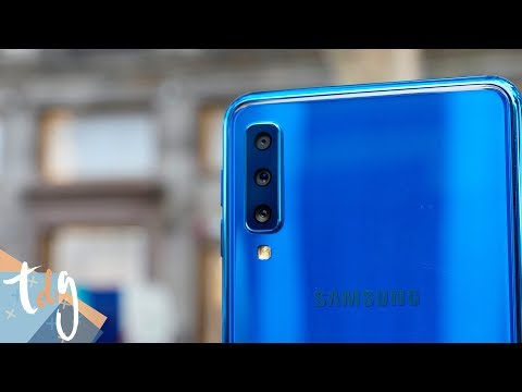 ¿MÁS cámaras es MEJOR? Samsung Galaxy A7 review