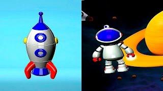 Космический конструктор для детей Build and Play - Познавательное видео для детей(Интересное и познавательное видео для детей с космическим 3D конструктором Build and Play для детей. Мы вместе..., 2015-09-23T13:01:02.000Z)