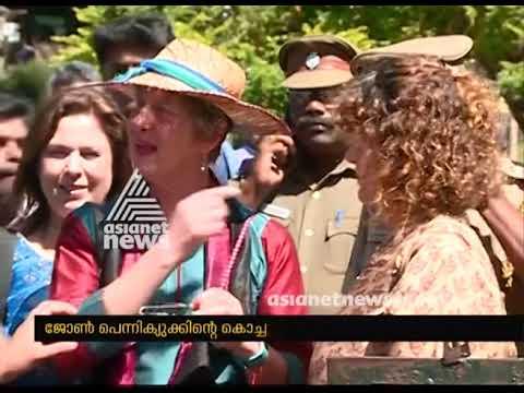 Mullaperiyar Dam engineer John Pennycuick's granddaughter visit Kerala