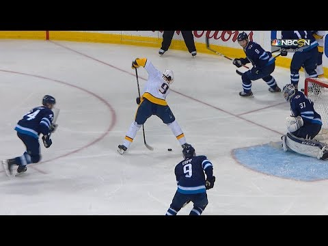 Forsberg goes between the legs for superb goal