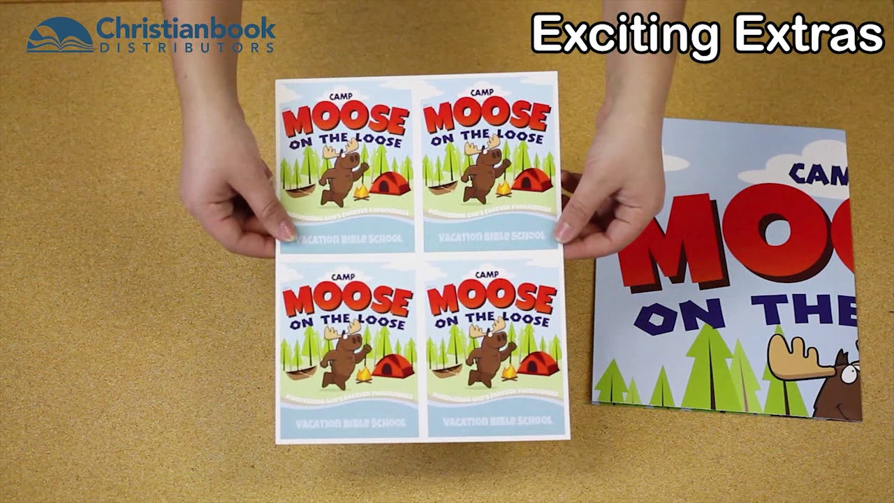 Camp Moose On The Loose Vbs 2018 Starter Kit Unboxing
