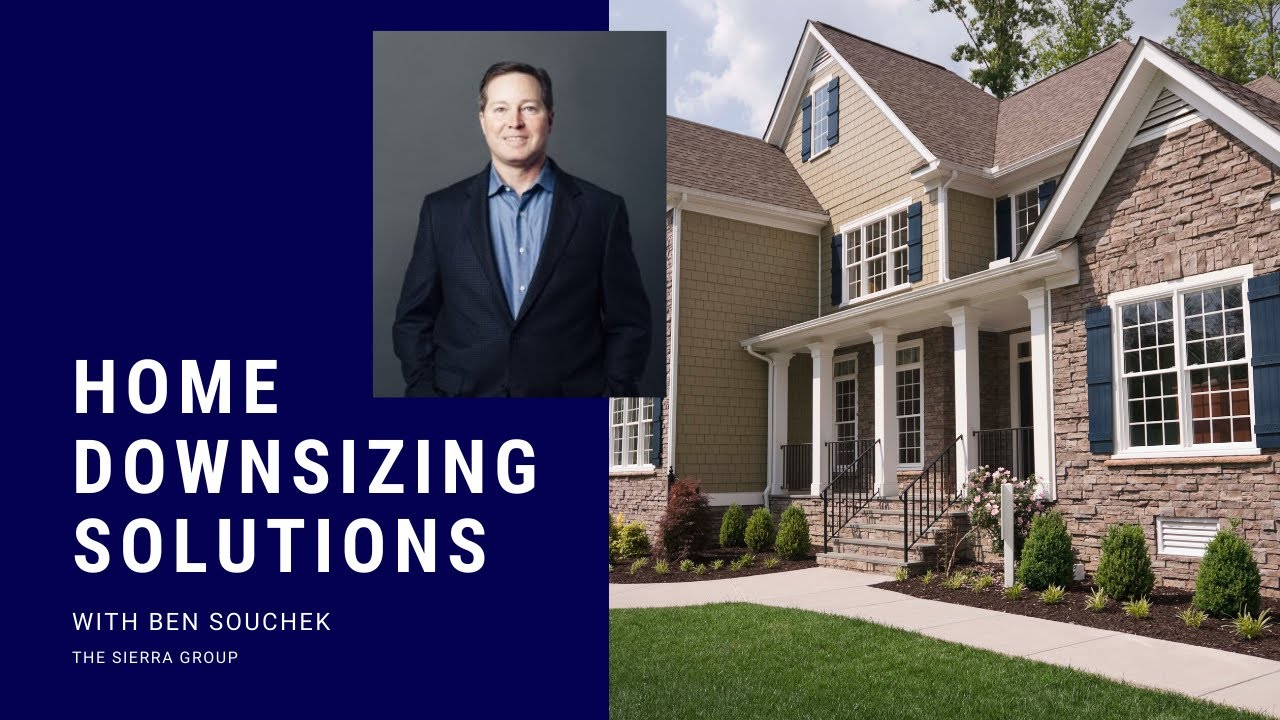 Home Downsizing Solutions by The Sierra Group.  Professional Home Buyers