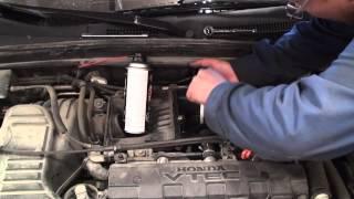 DIY Acura 1.7 EL Honda Civic Throttle Body Cleaning