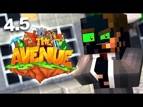 SQUASHING BEEF WITH GRASER AND WILL! | The Avenue - Modded Minecraft SMP #4.5