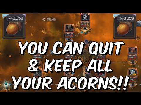 You Can QUIT Squirrel Girls Acornucopia Anytime & Keep All Your Acorns - Marvel Contest Of Champions