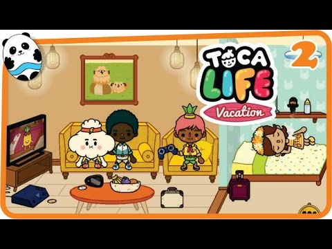 Toca Life: Vacation (Toca Boca) Part 2 (Hotel) - Best App for Kids