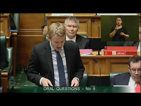 Question 9 - Jamie Strange to the Minister of Education
