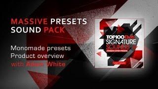 Native Instruments Massive Presets - Top 100 DJs Signature Sounds