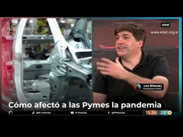 Cómo impactaría en las Pymes una segunda ola y balance 2020 - ENAC en IP noticias