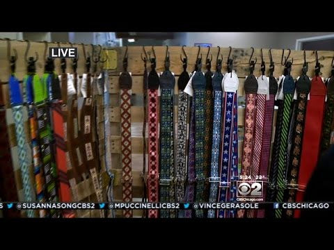 Chicago Company Making Guitar Straps From Old Seat Belts