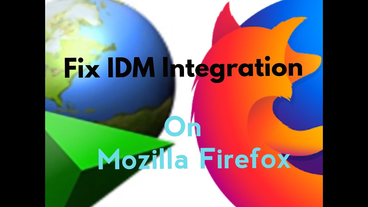 How to Install IDM Integration Module Extension in Mozilla Firefox