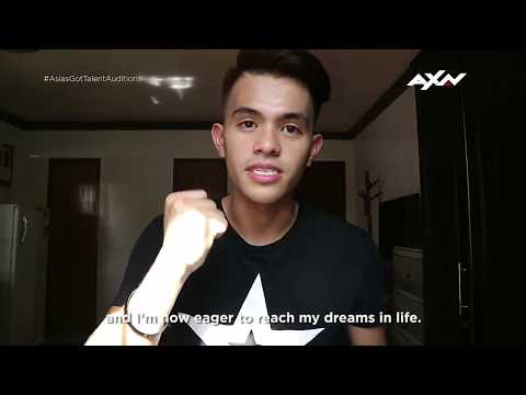 Neil Rey Garcia Llanes Has a Message For You | Asia's Got Talent 2018
