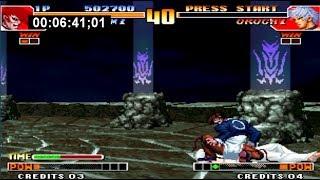 [TAS] KOF 97 SinglePlayer Orochi Iori in 6:42 (WorldRecord)