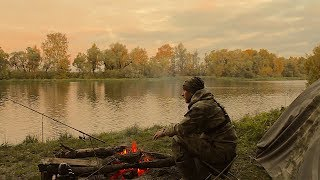 Рыбалка с Ночёвкой.Резинка на Живца.Фидер.Один На Реке.Рыбалка как образ жизни.