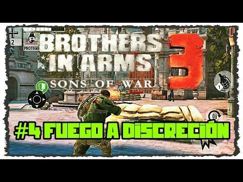 BROTHERS IN ARMS 3 HD / #4 / Fuego a Discreción (Campaña 1)