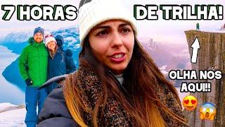 LARGADOS E (nada) PELADOS NA NORUEGA!!! PULPIT ROCK / PREIKESTOLEN