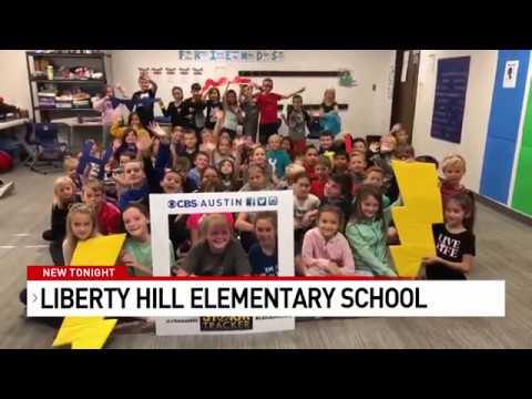 Liberty Hill Elementary School on CBS Austin | November 4th, 2019