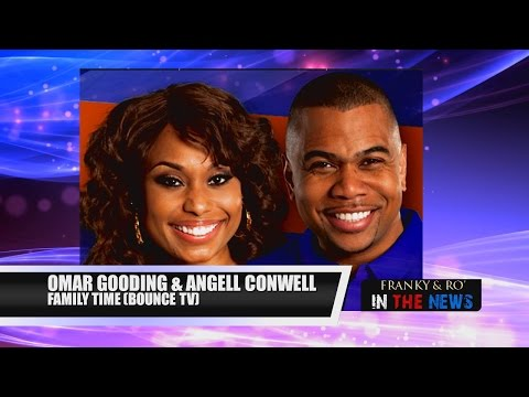 "Omar Gooding & Angell Conwell of Bounce TV's, ""Family Time,"" Season 3"